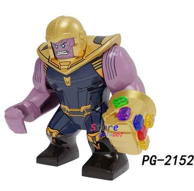Большие фигурки Танос Супергерой Марвел 7-9 см конструктор аналог Лего