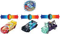 Игровой набор «Тачки» Машинки, меняющие цвет 3 шт. (Disney Pixar Cars Color Changers 3-Pack) от Mattel