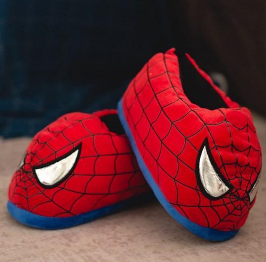 Тапочки Спайдермен, тапки Людина Павук