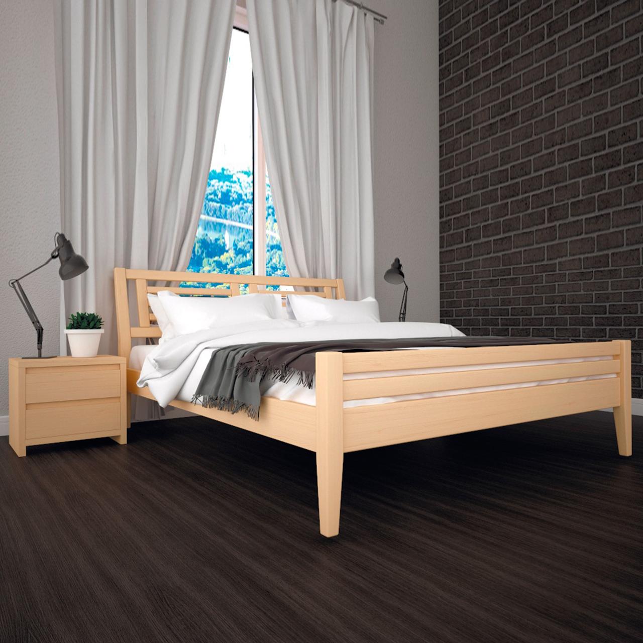 Кровать деревянная Мия-1 односпальная