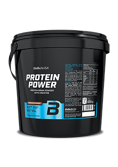 Комплексный протеин BioTech Protein Power (4000 г) биотеч павер ваниль