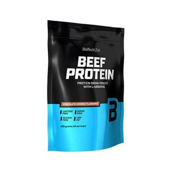 Говяжий протеин BioTech BEEF Protein (500 г) биотеч биф клубника