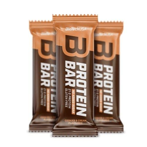 Протеиновый батончик BioTech Protein Bar (70 г) биотеч salted caramel