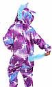 Кігурумі дитячий Единоріг з принтом. ТМ SAIMEIQI.  Розмір на зріст: 120. 130. 140, фото 2