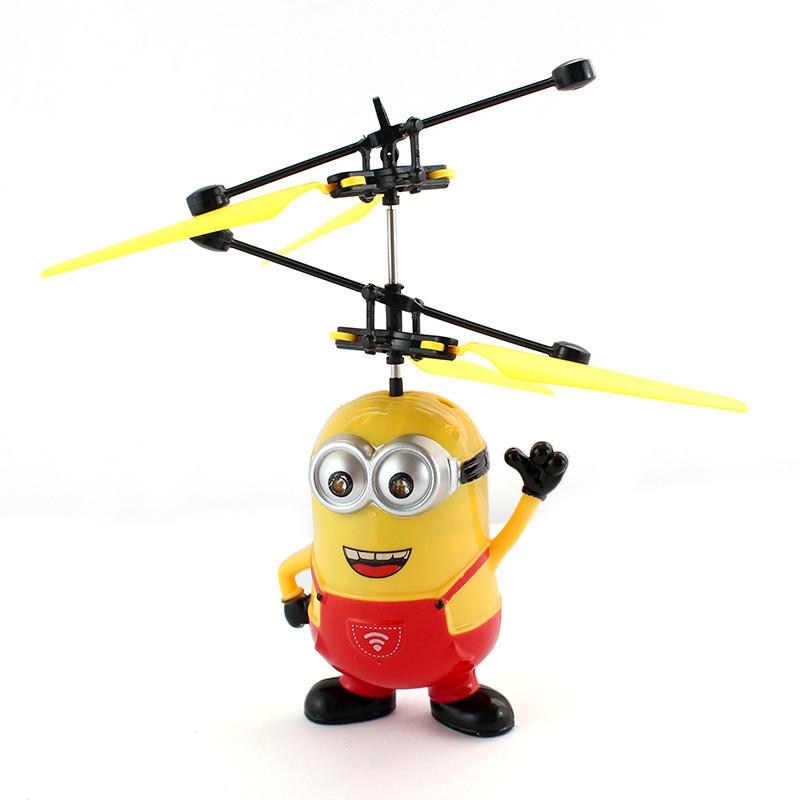 """Летающая игрушка """"Миньон"""" с пультом дистанционного управления 8188A, Красный"""