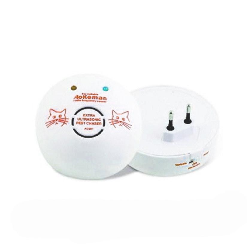 Ультразвуковой отпугиватель мышей, Aokeman Sensor Pet Chaser AO:201, электрокот против грызунов