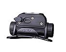 Набор налобный фонарь Fenix HM65R 1400 люмен встроенный USB+ мини фонарь Fenix E01 V2.0, фото 3
