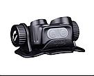 Набор налобный фонарь Fenix HM65R 1400 люмен встроенный USB+ мини фонарь Fenix E01 V2.0, фото 4
