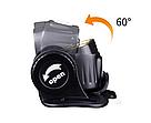 Набор налобный фонарь Fenix HM65R 1400 люмен встроенный USB+ мини фонарь Fenix E01 V2.0, фото 5