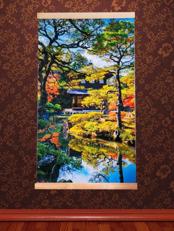 Картина обогреватель (Японский сад) настенный пленочный инфракрасный электрообогреватель Трио 00122