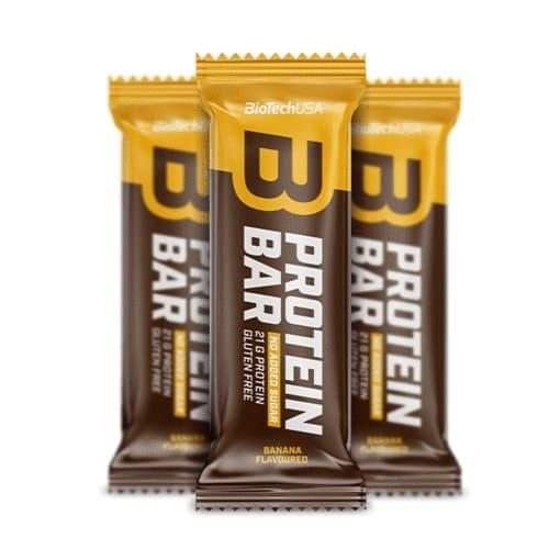 Протеиновый батончик BioTech Protein Bar (35 г) биотеч banana