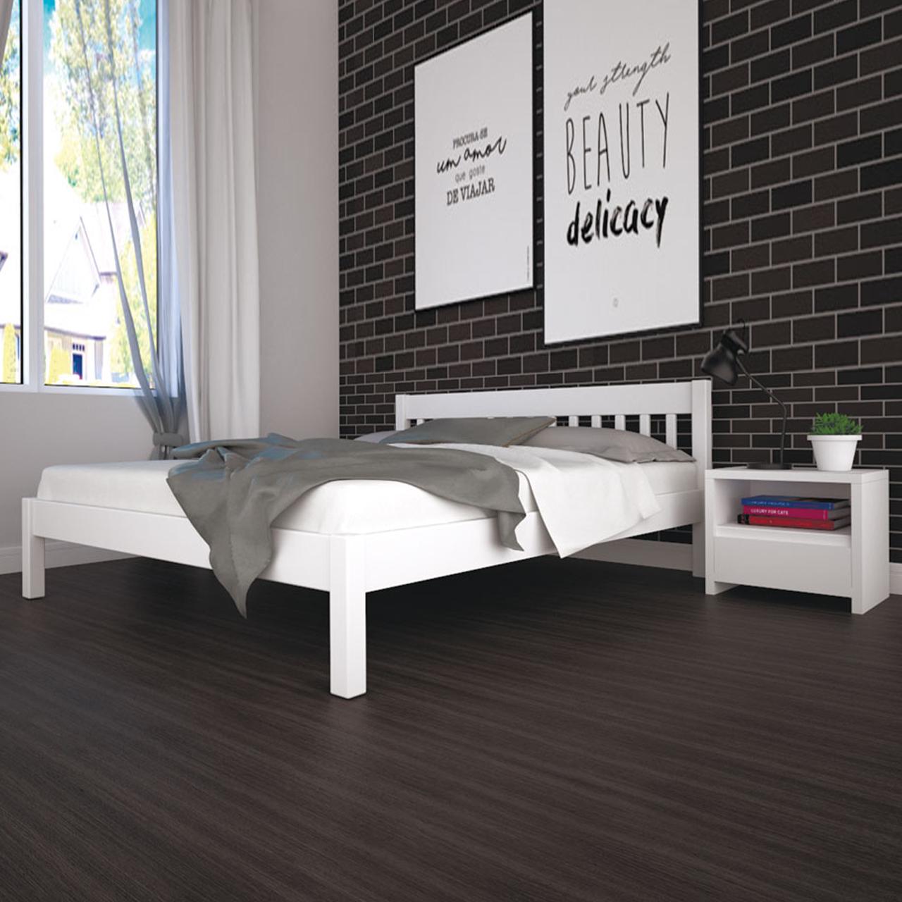 Кровать деревянная ЛК-1 лдноспальная