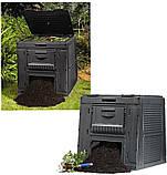 Компостер Keter E-Composter Without Base 470 L ( компостер садовый ), фото 6