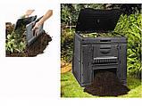 Компостер Keter E-Composter Without Base 470 L ( компостер садовый ), фото 9