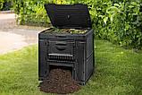 Компостер Keter E-Composter Without Base 470 L ( компостер садовый ), фото 3
