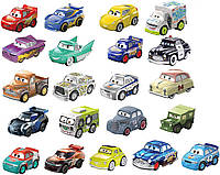 Шикарный набор из 21шт. Мини Тачки 3 (Disney Pixar Cars Mini Racers 21) от Mattel