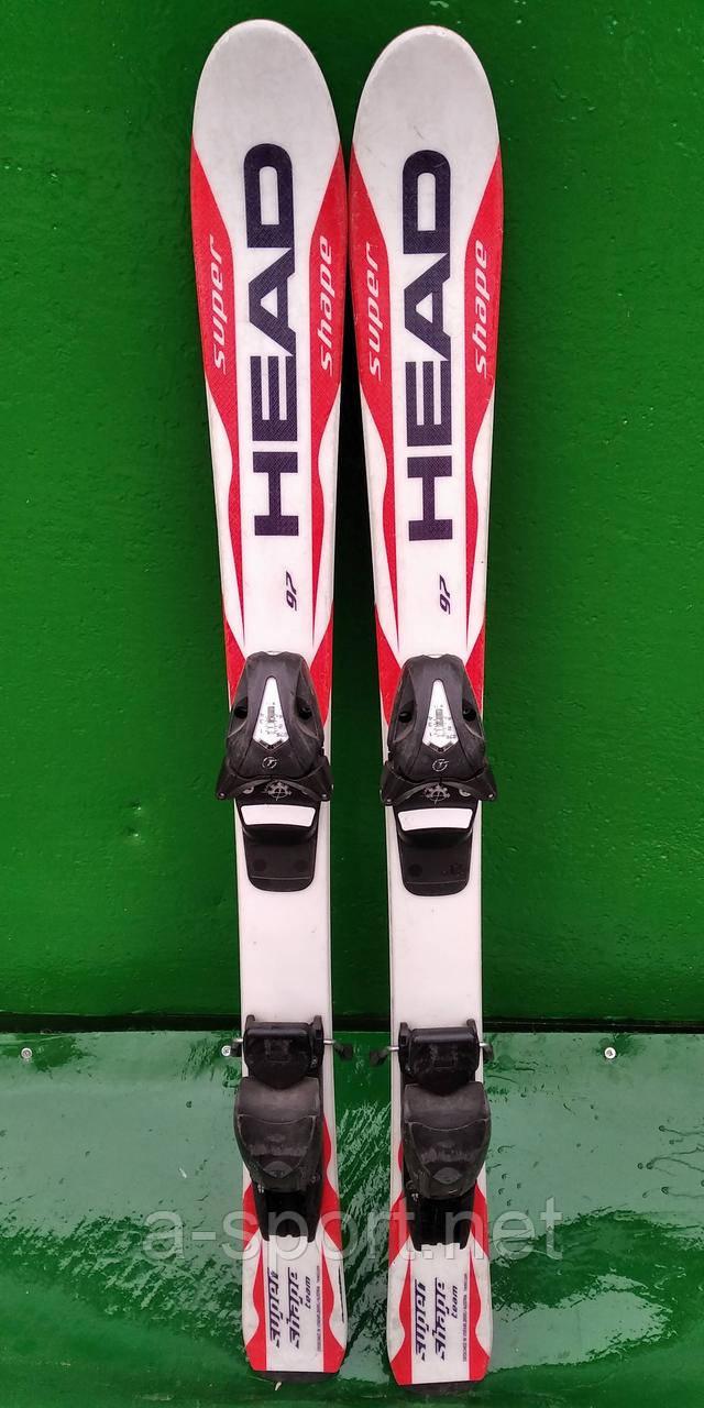 Гірські лижі бу Head Super Shape 97 см для карвінгу