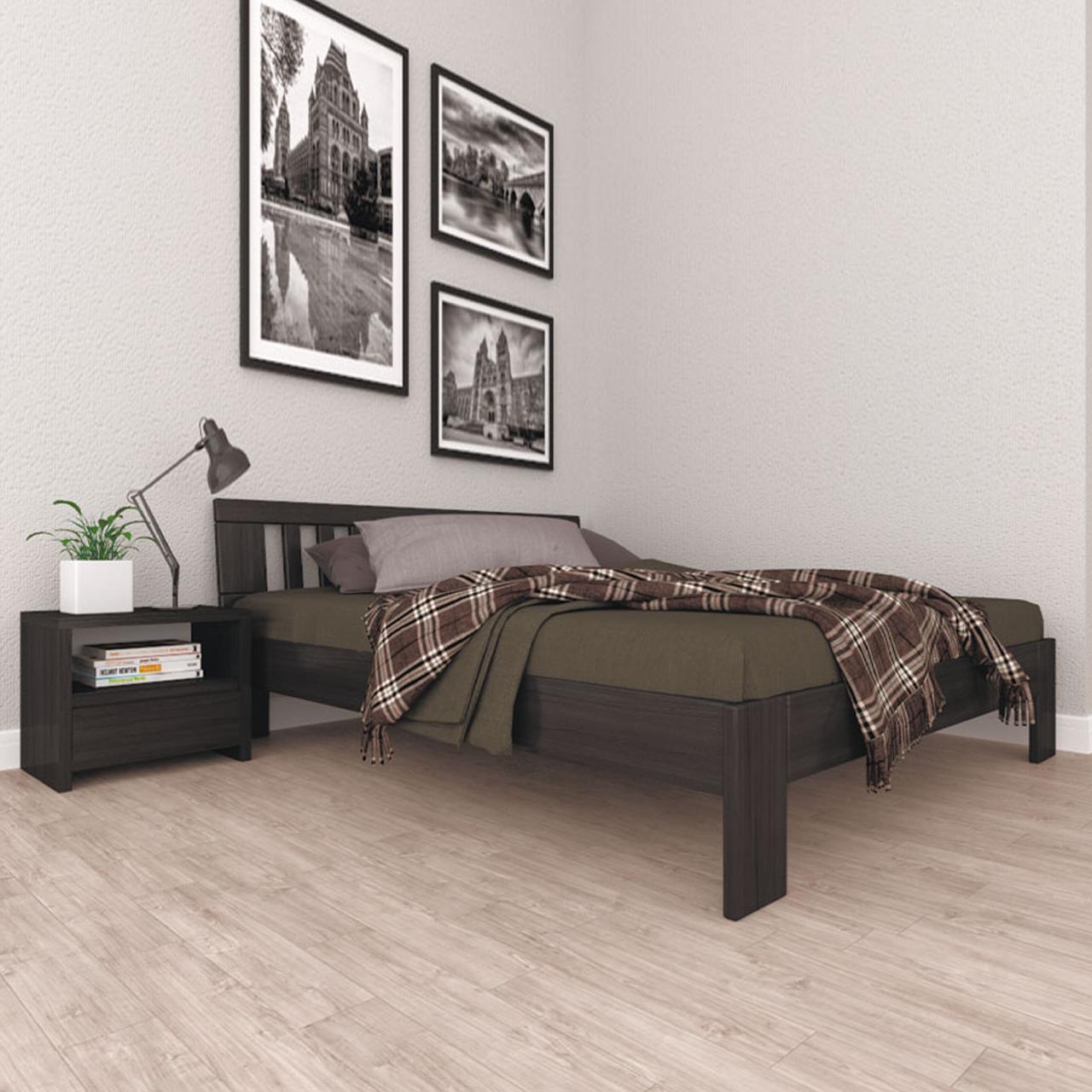 Кровать деревянная ЛК-5 односпальная