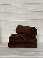 Махровое полотенце для бани, 70 х 140см, Туркменистан, 430 гр\м2, кофе