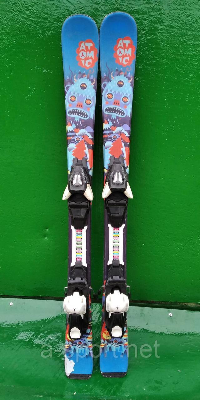 Гірські лижі бу Atomic 100 см для карвінгу