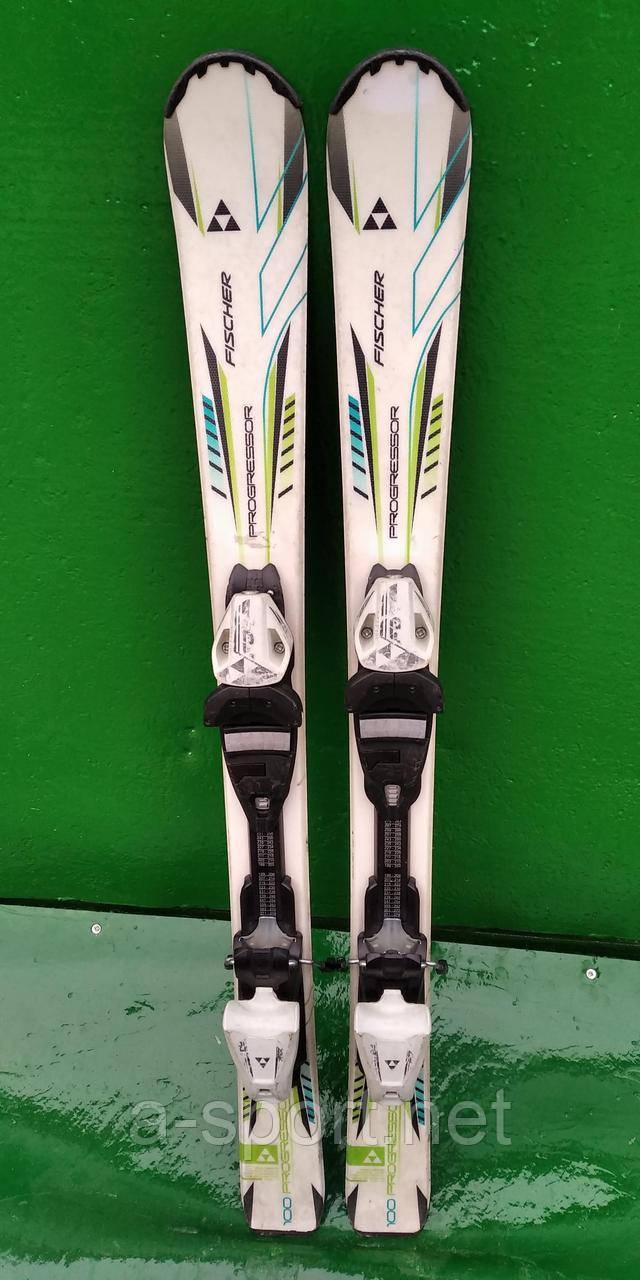 Гірські лижі бу Fisher Progressor 100 см для карвінгу