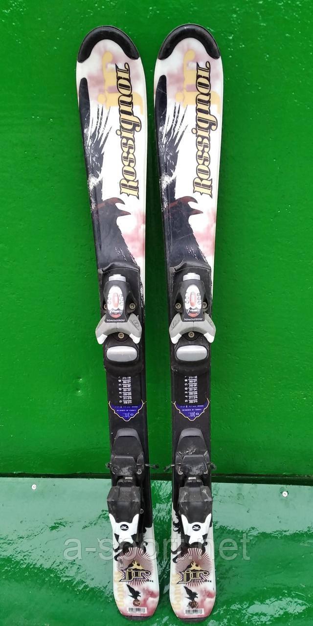 Гірські лижі бу Rossignol gr 100 см для карвінгу