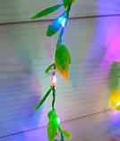 Гирлянда Штора-роса 200 LED плакучая ива 3 м * 1 м/переходник, мульти, фото 2