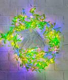 Гирлянда Штора-роса 200 LED плакучая ива 3 м * 1 м/переходник, мульти, фото 3