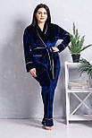 Комплект домашний XXL+ К1321 Синий, фото 2