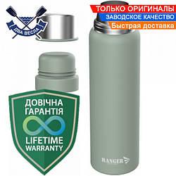 Питьевой термос для рыбалки Expert 0,75 L термос для чая металлический термос для кофе сталь + пищевой пластик