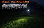 Набор налобный фонарь Fenix HM65R + мини фонарь Fenix E01 V2.0, фото 10