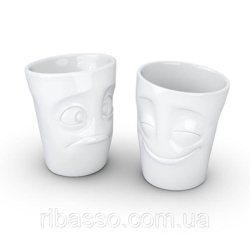 Набор Tassen Весельчак и Скромняга из двух фарфоровых чашек ( 350 мл)