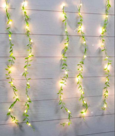 Гирлянда Штора-роса 200 LED плакучая ива 3 м * 1 м/переходник, теплый белый