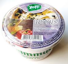 "Хумус, середземноморська закуска ""Тосканський сад"", ТМ ""Yofi"", 250г"
