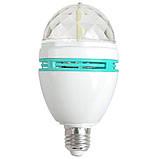 Светодиодная вращающаяся диско лампа LED Full Color Rotating Lamp Mini Party Light., фото 6