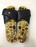 Массажные тапочки Foot treasure massage shoes морские камни., фото 2
