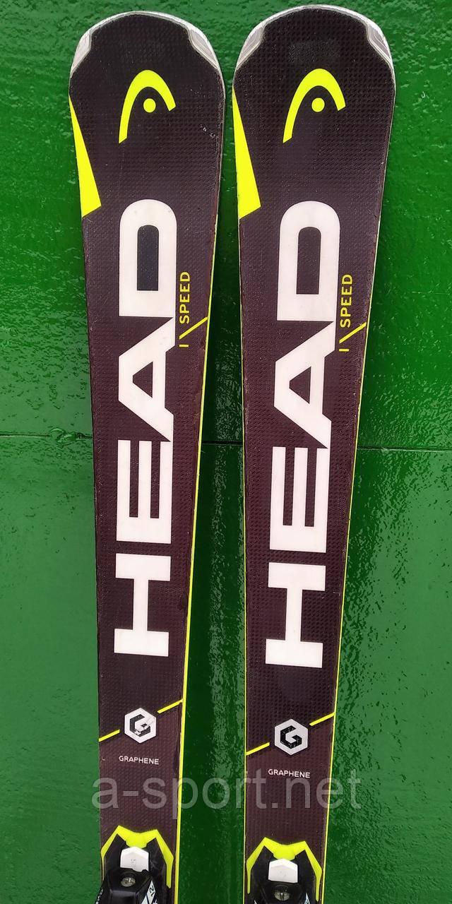 Гірські лижі бу  Head i.Supershape Speed 163 см експертний карвінг, 2017p