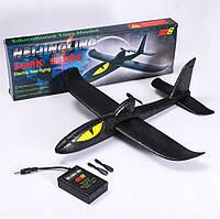 Самолет-планер Акула Dark Elves с моторчиком, фото 1