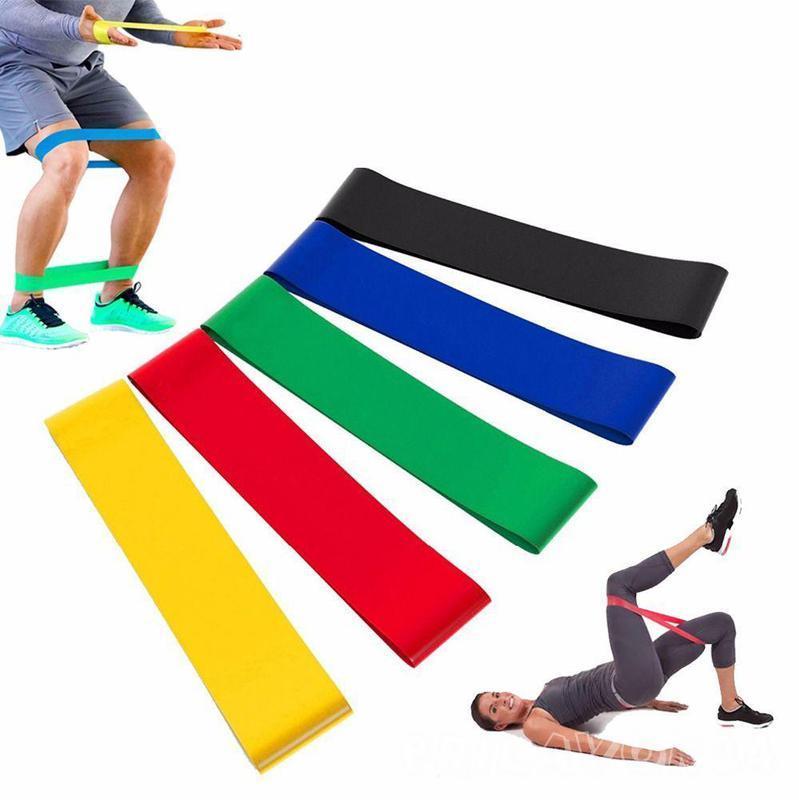Набор фитнес резинок с чехлом U-Powex 5 шт