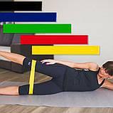 Набор фитнес резинок с чехлом U-Powex 5 шт, фото 2