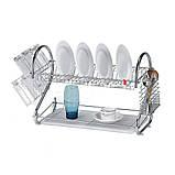 Полка - сушилка Стойка для хранения посуды kitchen storage rack, фото 3