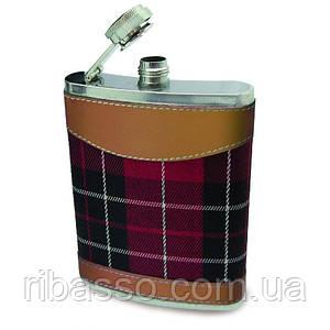 Фляга Шотландський Тартан з фунелью