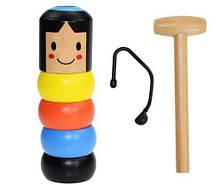 Игрушка-фокус Деревянная игрушка Magic Daruma
