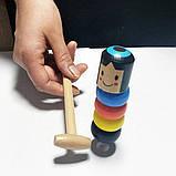 Игрушка-фокус Деревянная игрушка Magic Daruma, фото 2
