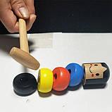 Игрушка-фокус Деревянная игрушка Magic Daruma, фото 3