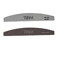 Пилка Vizavi лодочка для натуральных ногтей, абразивность 150/180 Япония VNF-106