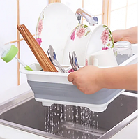 Сушилка трансформер (складная) для сушки посуды и кухонных приборов