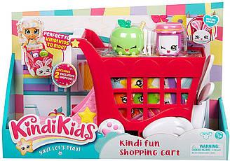 Игровой набор Kindi Kids Тележка корзина для покупок ЗайчикShopping Cart