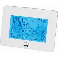 Метеостанція з радіо-будильник Clatronic WSU 7026 RC (білий)