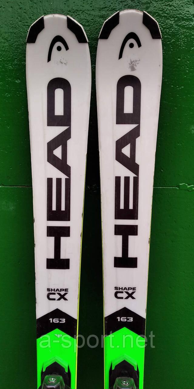Гірські лижі бу Head Shape CX 163 см універсал, 2017p